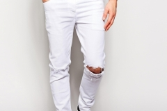 Best Inspiration White Ripped Jeans For Men